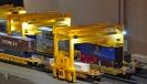 Intermodal mini-switching Layout