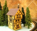 Back of BAZ Half Timbered House #2
