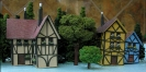 The Three BAZ Half Timbered Houses Together