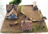 1850s ranch diorama