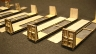 Steel Backed Bulkhead Flat Car kits