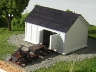 Handcar and Tool Shed in Color!