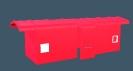 bay window covered wagon caboose