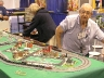 Art Buildman with his Micro-trains Layout