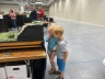 Two young model train fans